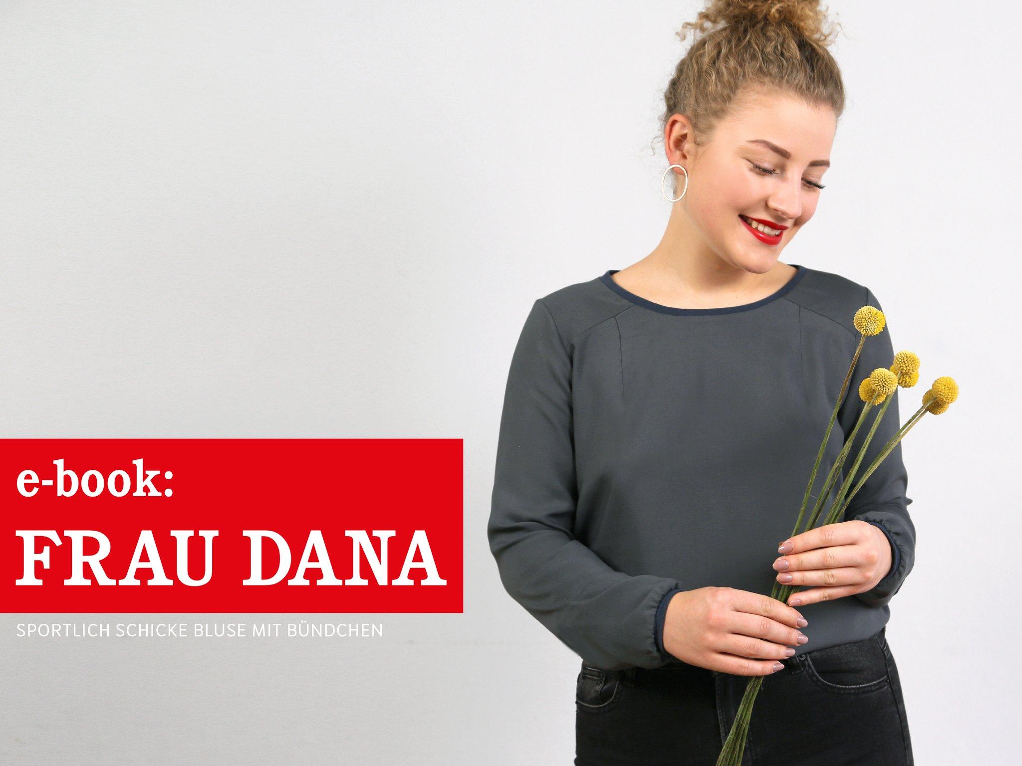 FRAU DANA Bluse mit Halslochbündchen, e-book