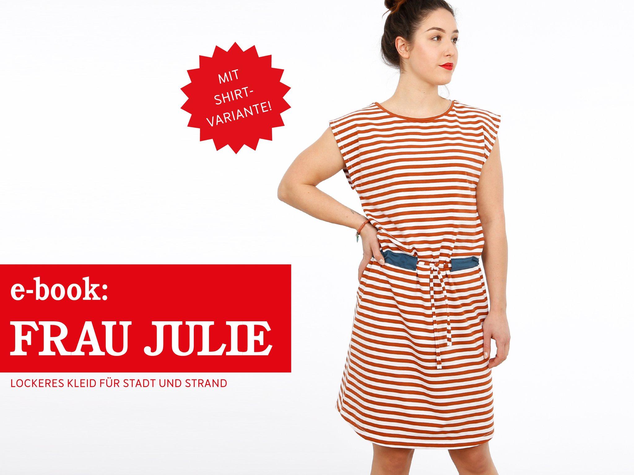 FRAU JULIE • Jerseykleid & Shirt, e-book
