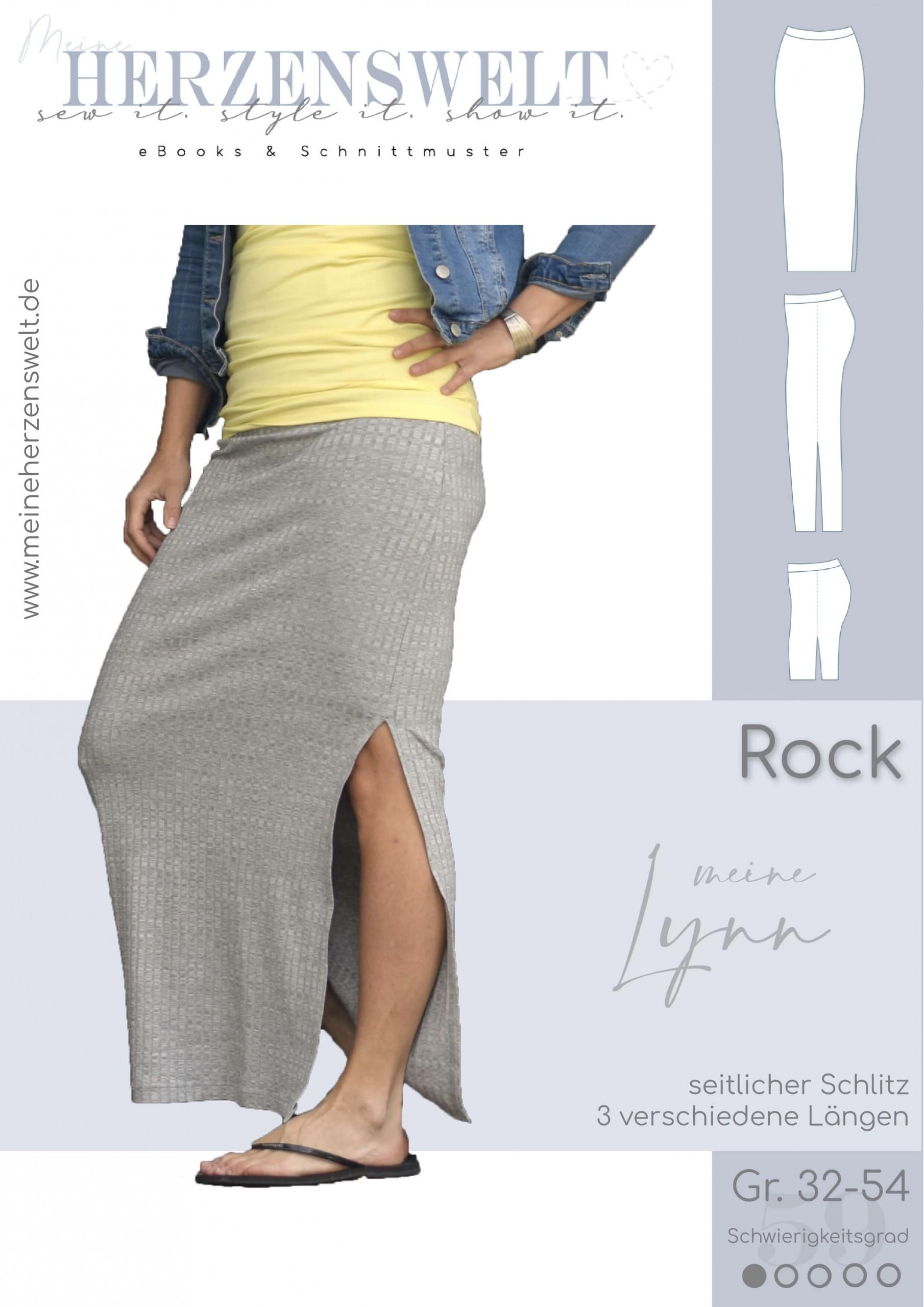 Rock Damen – Schnittmuster Gr. 32-54 – LYNN #59