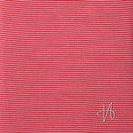 Bio Jersey Schlauchbündchen GOTS Streifen rosa rot  001