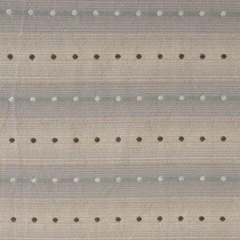 Baumwolle Jacquard japanisch Punkte beige blau