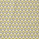 Baumwolle Leinen Canvas japanisch Blumenmuster grün grau  001
