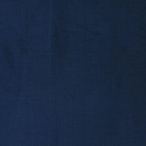 Bio Baumwolle Stretch Kord fein GOTS dunkelblau