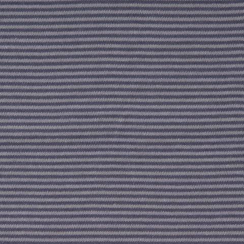 Bio Baumwolle Jersey GOTS Streifen grau