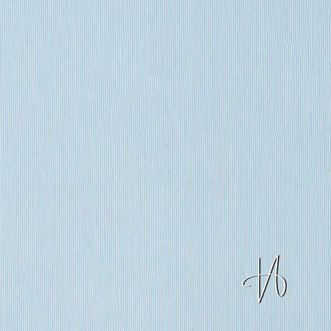 Baumwolle Popeline Elasthan blau weiß