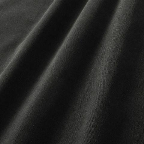 Baumwoll Samt mit Köper grau