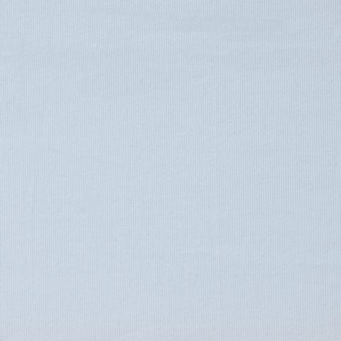 Baumwolle Rib Jersey mit Lycra hellblau