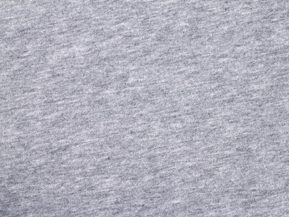 Bio Baumwolle Jersey GOTS grau meliert