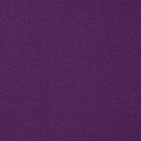 Bio Baumwolle Jersey GOTS in lila uni