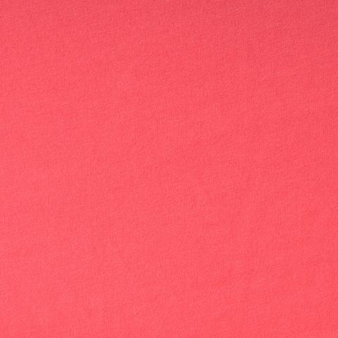 Bio Baumwolle Jersey GOTS pink aprikot uni