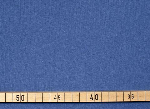 Bio Baumwolle Jersey (GOTS) blau uni