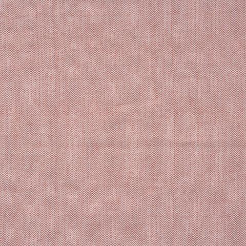 Bio Baumwolle Canvas Fischgrat in rot 0,5m