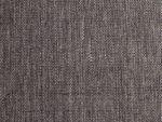 Bio Baumwolle Canvas handgewebt schwarz weiß  0,5m 001