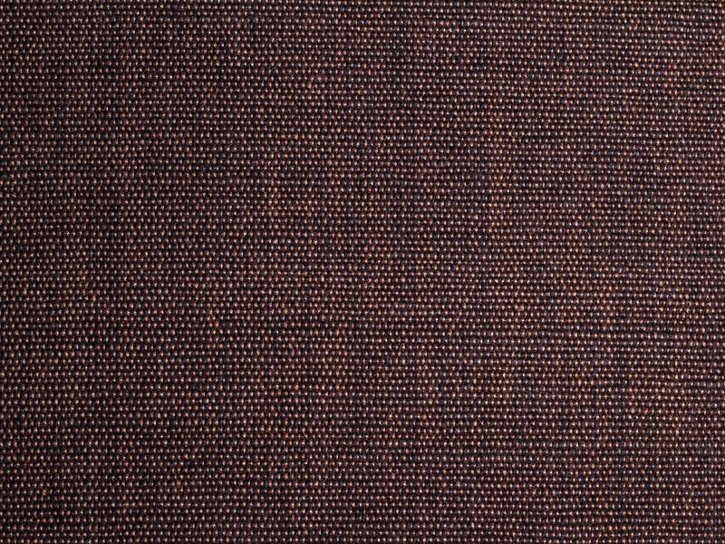Bio Baumwolle Canvas handgewebt braun schwarz