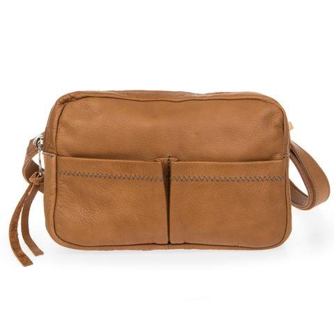 JOHNNY 3in1 Tasche Ledertasche in braun