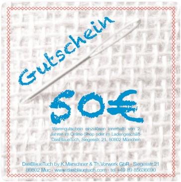 Geschenk-Gutschein über 50,00€