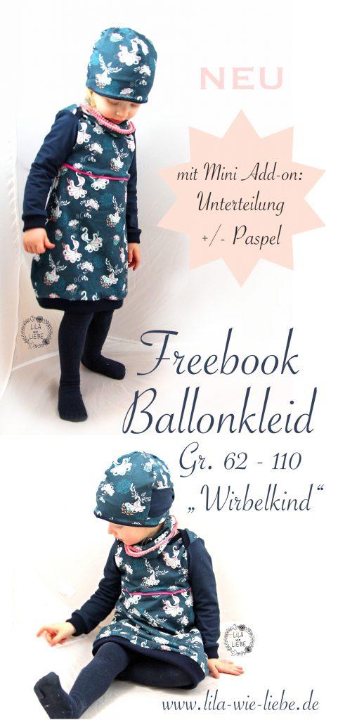"Ballonkleid ""Wirbelkind"" – Mini Add-On zum Freebook"