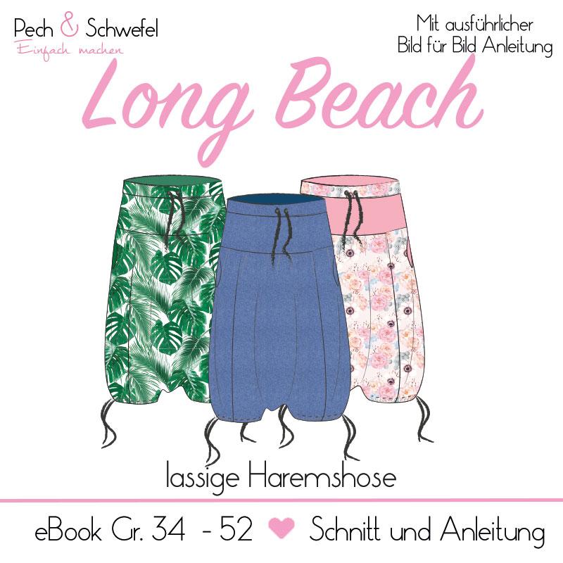"E-Book Haremshose ""Long Beach"" Gr. 34 – 52"