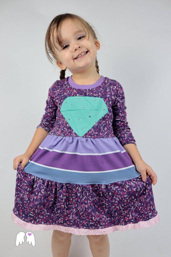 Diamond DRESS Kleid Gr. 86 - 164