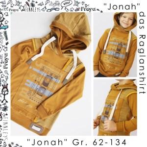 """Jonah Kids"" das Raglanshirt Gr. 62-134"