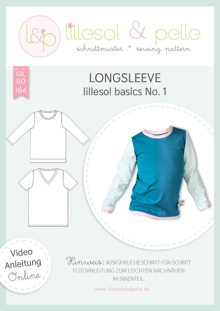 Papierschnittmuster lillesol basics No.1 Longsleeve