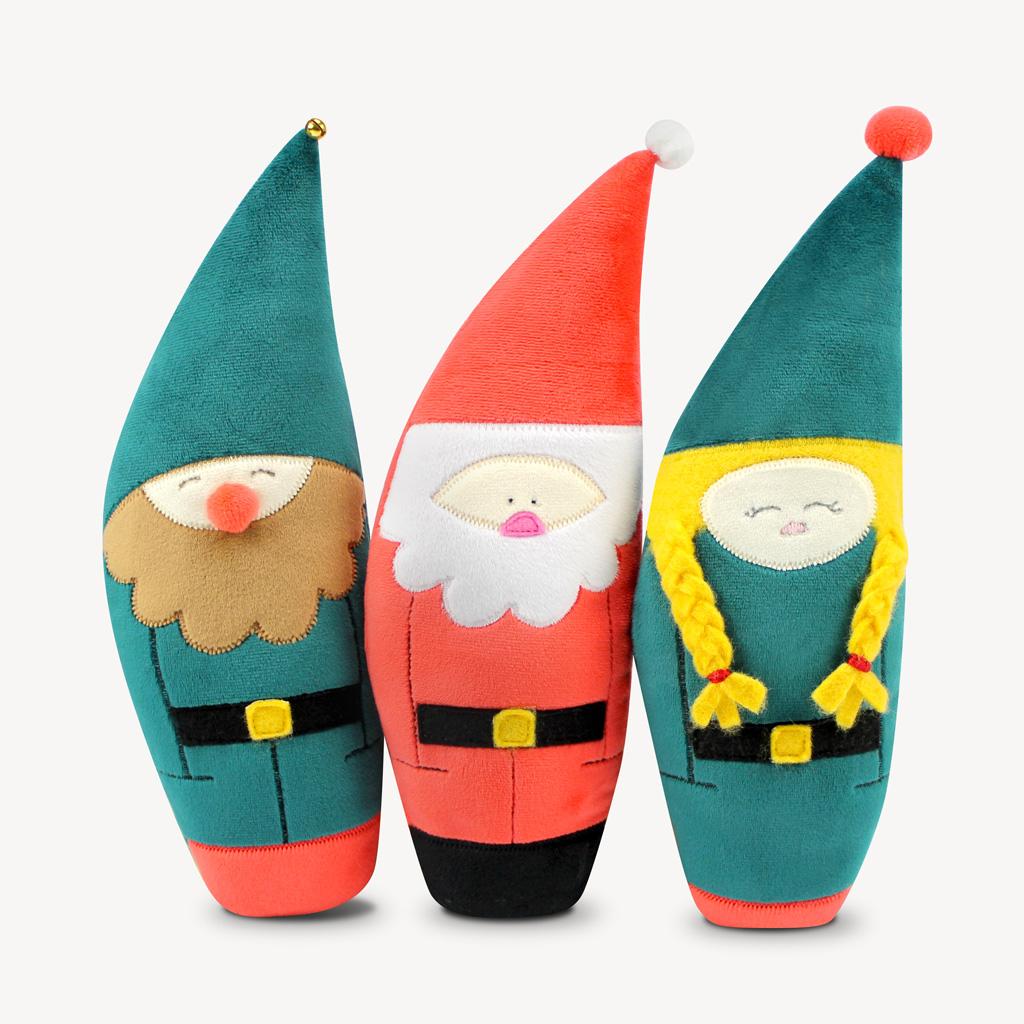 Weihnachtsmann Schnittmuster für süße Wichtel