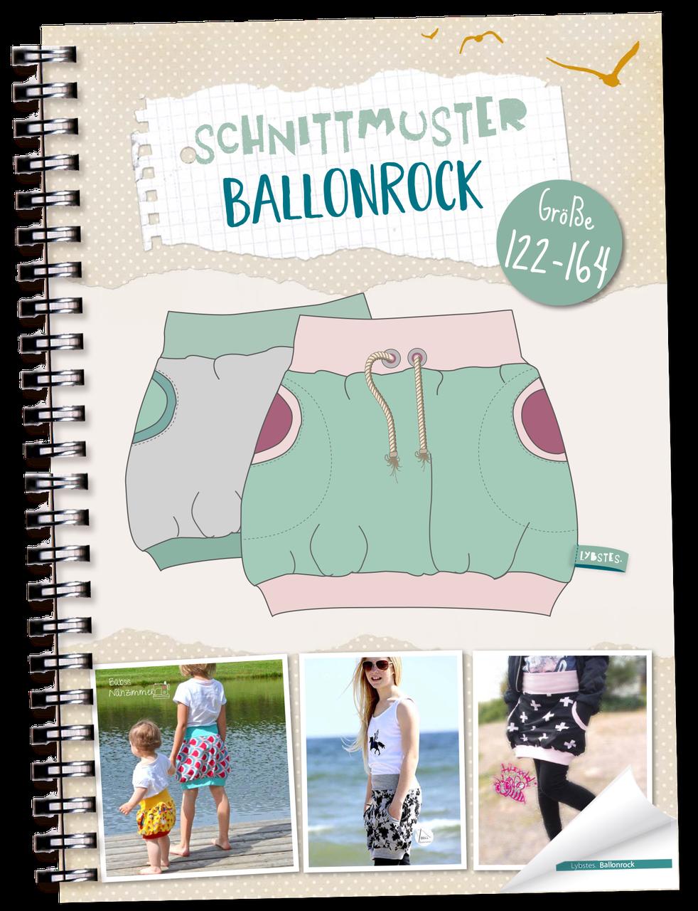 Lybstes. Ballonrock *KIDS* Gr. 122-164 | E-BOOK