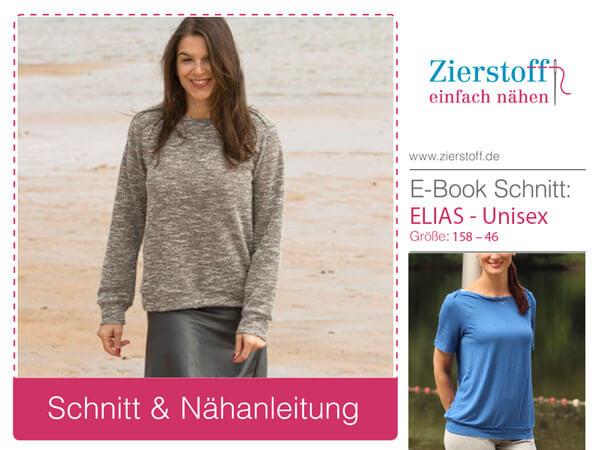 "Shirt ""ELIAS"" Unisex, Gr. 158 – Damengr. 46"
