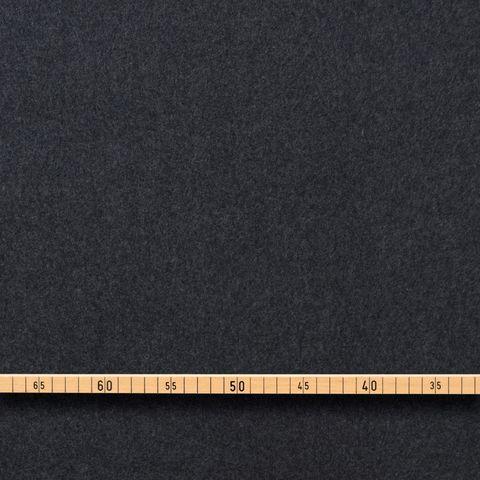 Fleece Bio Schurwolle dunkelgrau 21-024