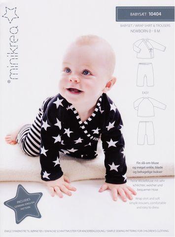 Schnittmuster Babyset Shirt & Hose