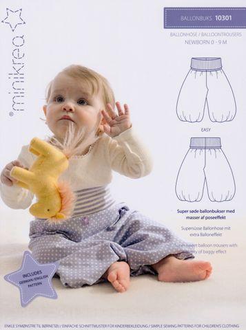 Schnittmuster Ballonhose Baby