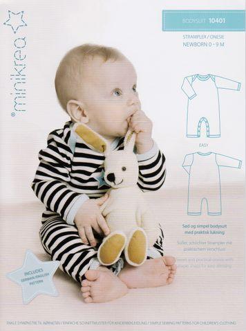 Schnittmuster Baby Strampler Body