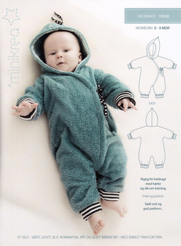 Schnittmuster Baby Strampler Overall