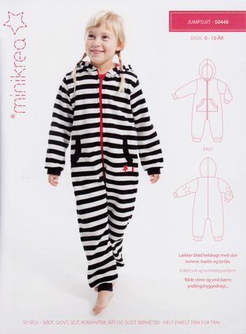 Schnittmuster Kinder Overall Jumpsuit Onesie