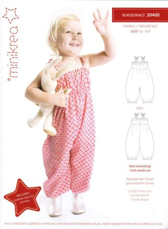 Schnittmuster Kinder Jumpsuit Overall