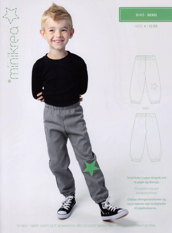 Schnittmuster Kinder Hose, Papierschnittmuster