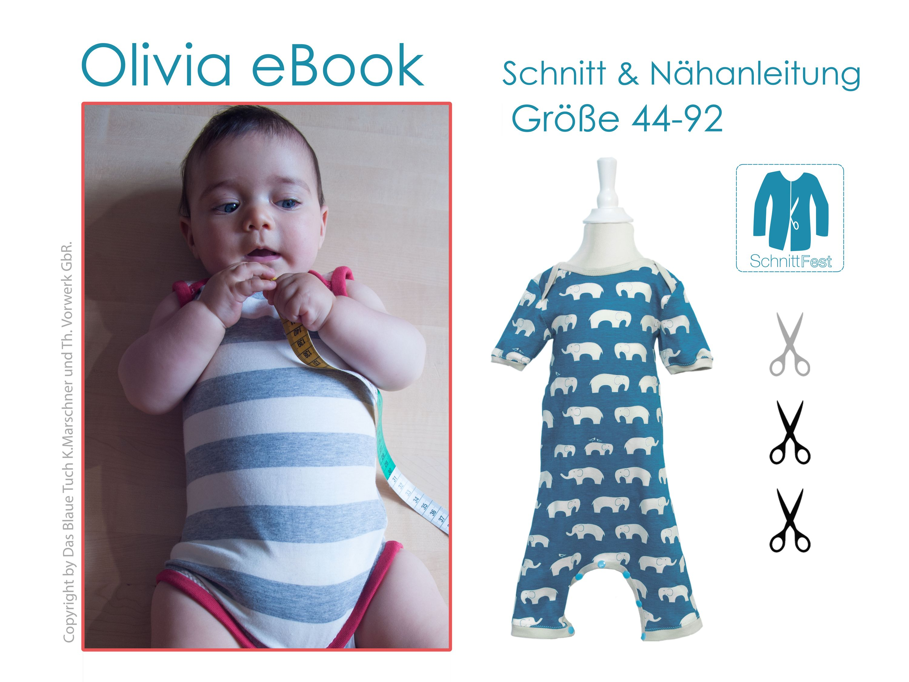 eBook Schnittmuster Baby Body OLIVIA