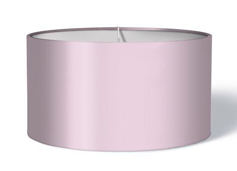 Stoff Lampenschirm einfarbig rosa