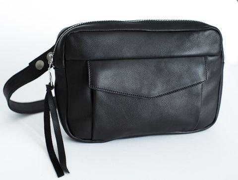 JO 3in1 Tasche Ledertasche in schwarz
