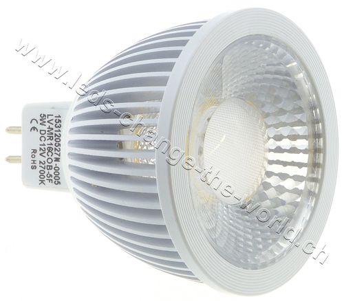 LED Spot, GU5.3, 5W, 249lm, 36°, neutralweiss (4000K)