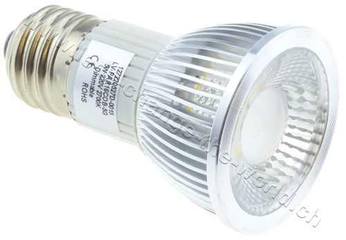 Retro LED Spot, E27, 5W, 249lm, 36°, dimmbar, warmweiss (2700K)