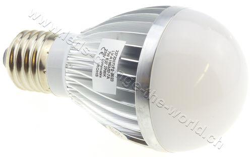 Retro LED Birne, E27, 7W, 520lm, 220°, dimmbar, warmweiss (2700K)