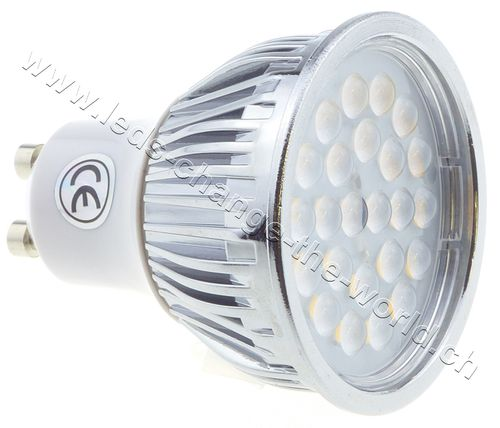 Retro LED Spot, GU10, 5W, 249lm, 135°, warmweiss (2700K)
