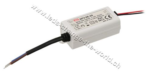 MeanWell LED Netzteil 12VDC, 670mAh, 8.04W, IP42, Serie APV-8E