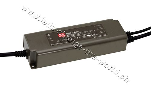 MeanWell LED Netzteil 12VDC, 10Ah, 120W, IP67, Serie PWM-120