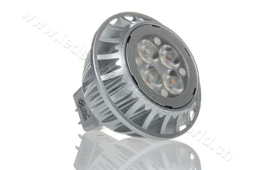 LED Spot, GU5.3, 4.5W, 230lm, 33°, warmweiss (2700K)