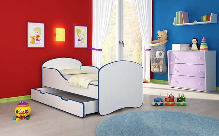 clamaro babybett kinderbett jugendbett matratze lattenrost neu 140x70 oder 160x80 alles f r 39 s kind. Black Bedroom Furniture Sets. Home Design Ideas