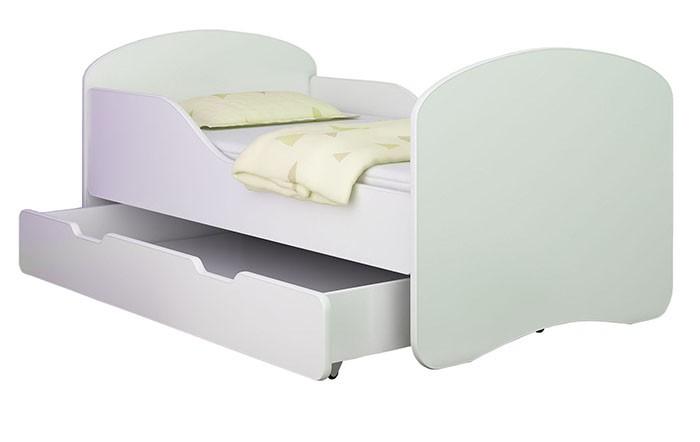 clamaro babybett kinderbett jugendbett matratze lattenrost neu 140x70 oder 160x80 alles f r 39 s kind. Black Bedroom Furniture Sets. Home Design Ideas