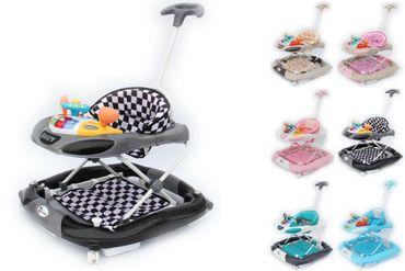Clamaro Gehfrei mit Schieber und Schaukelfunktion  Lauflernhilfe Laufhilfe Baby Walker Babywippe Gehhilfe