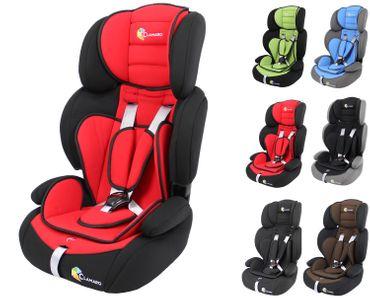 Kinderautositz 9-36 kg Kopfstütze verstellbar mitwachsend Auto Kindersitz für Kinder von 1-12 Jahre, Gruppe 1/2/3, ECE R44/04 Clamaro Guardian